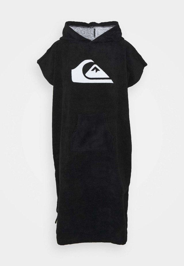 HOODY TOWEL YOUTH UNISEX - Strandaccessoire - black