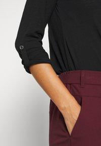 Q/S designed by - Top sdlouhým rukávem - black - 6