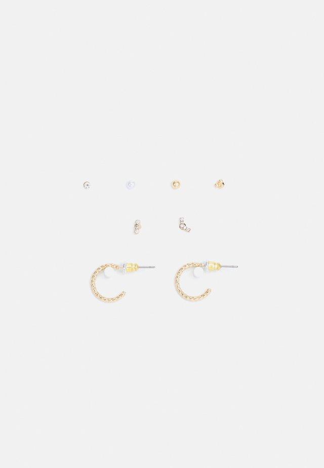 EAR PARTY 8 PACK - Boucles d'oreilles - gold-coloured