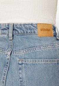 Weekday - ROWE - Straight leg jeans - verona blue - 4