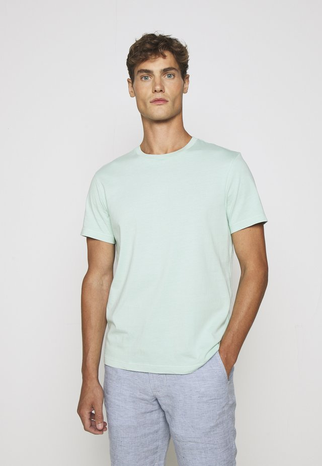 BROKEN CREW - T-shirt basique - misty spearmint