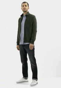 camel active - Zip-up sweatshirt - leaf green - 1