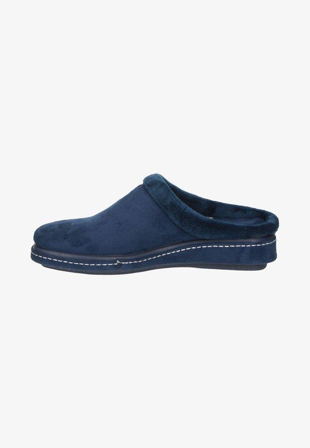 Pantoffels - blauw