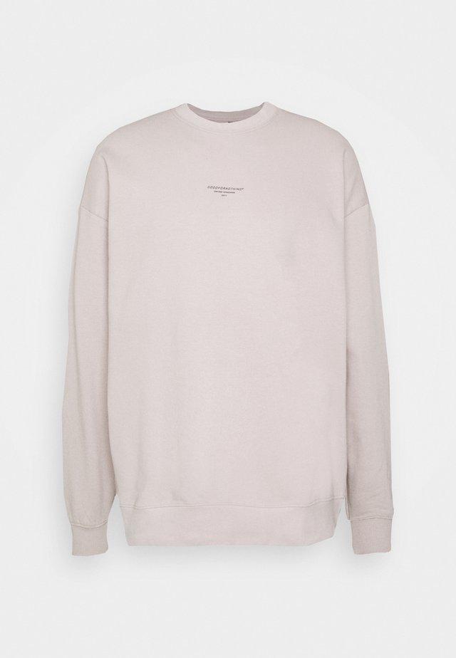 UNISEX  - Sweater - stone