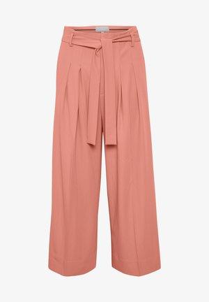Trousers - mauveglow