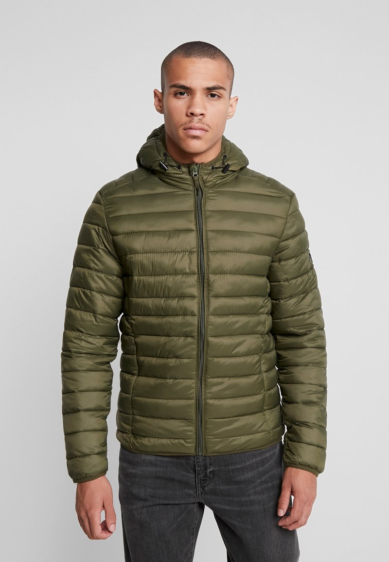 Blend - OUTERWEAR - Välikausitakki - olive night green
