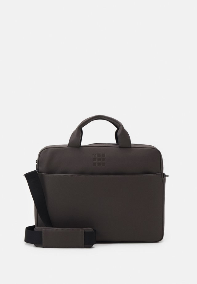 CLASSIC SLIM BRIEFCASE UNISEX - Sac ordinateur - grey