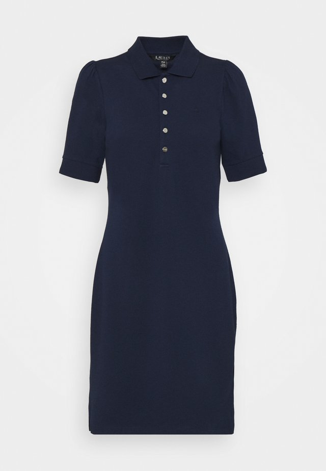 CHACE SHORT SLEEVE CASUAL DRESS - Robe en jersey - french navy