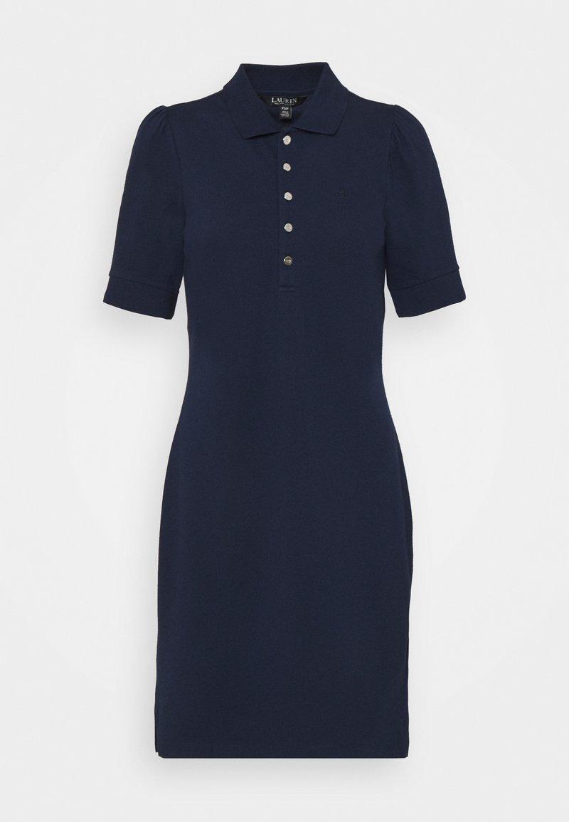 Lauren Ralph Lauren Petite - CHACE SHORT SLEEVE CASUAL DRESS - Jersey dress - french navy
