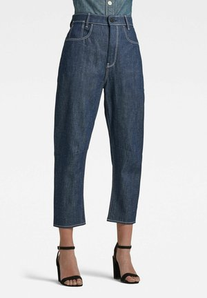 C-STAQ 3D BOYFRIEND CROP - Jeans Tapered Fit - raw denim