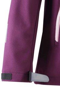 Reima - VANDRA UNISEX - Soft shell jacket - deep purple - 2