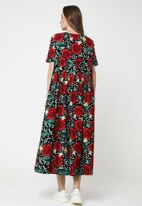 Madam-T - Maxi dress - schwarz rot - 2