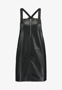 PEPLUM PINNY - Vestito estivo - black