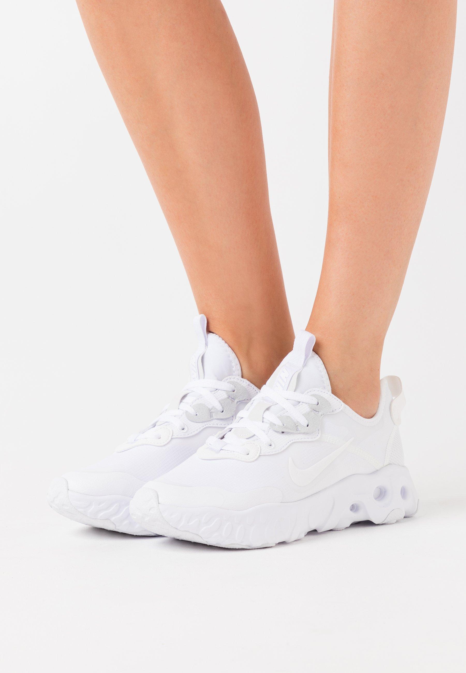 Nike Sportswear REACT ART3MIS - Baskets basses - white/blanc ...