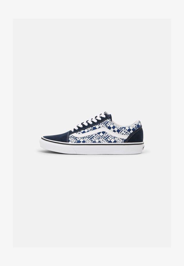 OLD SKOOL UNISEX - Sneakers laag - dress blues/true blue