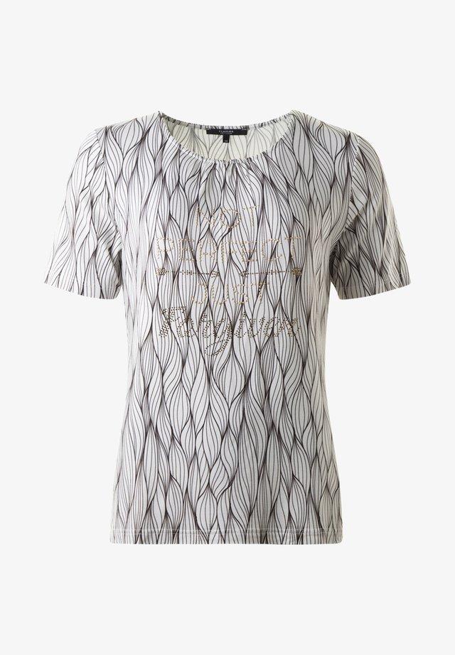 GILDA TOPP - Print T-shirt - sandcombo