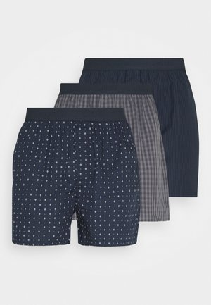 3 PACK - Boxer shorts - blue/grey