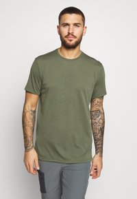 Houdini - BIG UP TEE - T-shirt basic - utopian green - 0