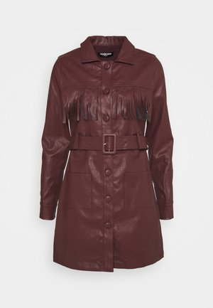 WENDY DRESS - Shirt dress - brown