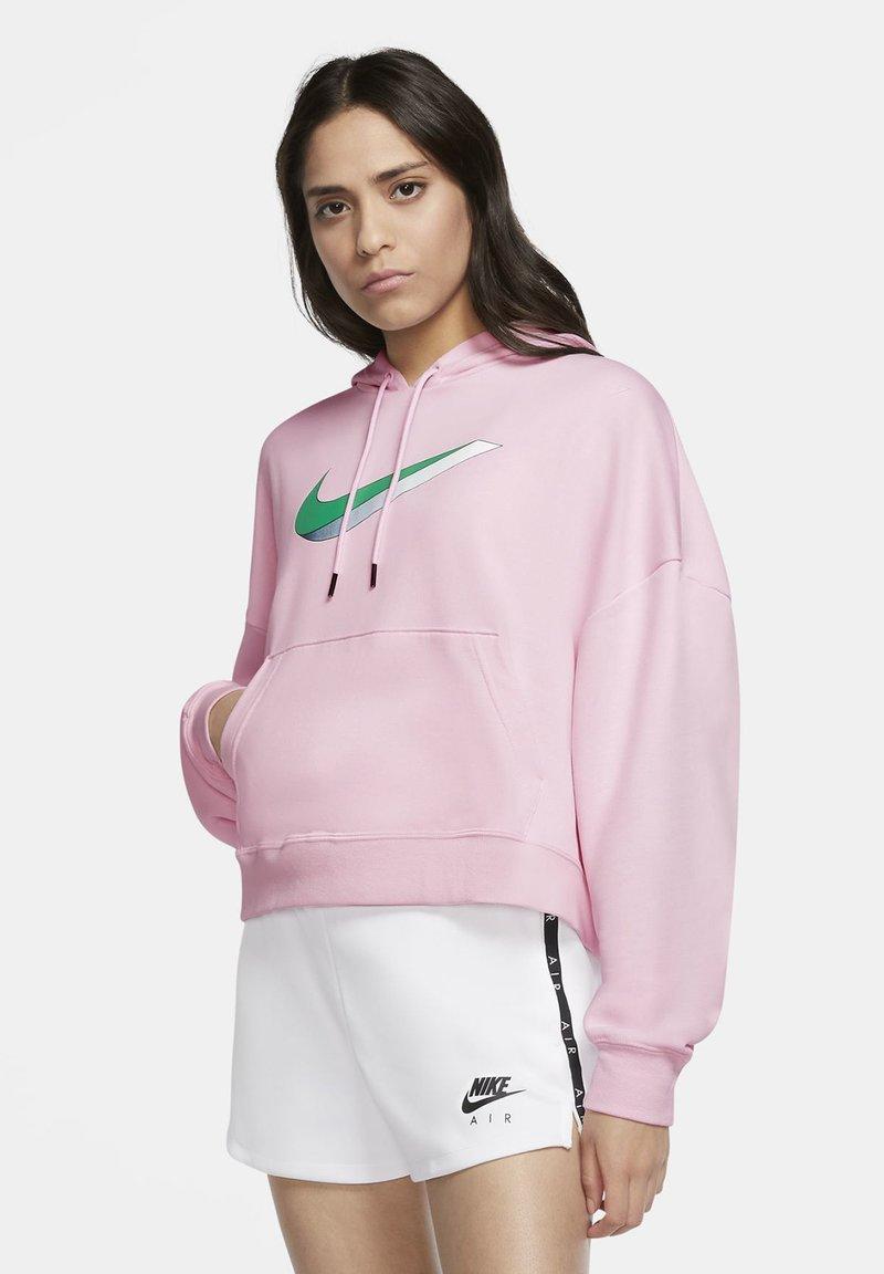 Nike Sportswear - HOODIE - Hoodie - pink foam