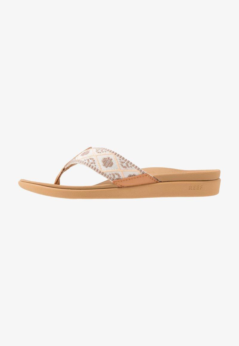 Reef - ORTHO-BOUNCE - Sandály s odděleným palcem - vintage white