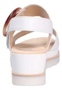 Gabor - Wedge sandals - white - 3