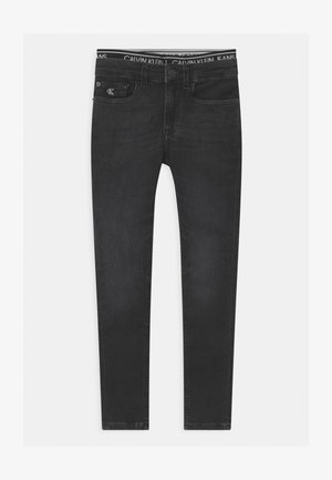 SUPER SKINNY INFINITE - Jeans Skinny Fit - black