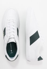 Lacoste - COURT MASTER - Sneakersy niskie - white/dark green - 1