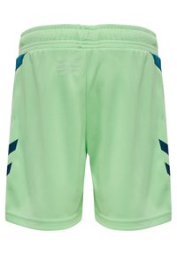 Hummel - ACTION  - Shorts - green ash/blue coral - 1