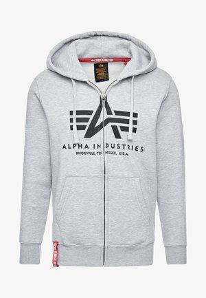 Zip-up hoodie - greyheather