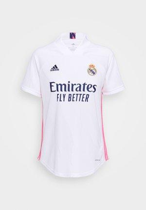 REAL MADRID AEROREADY SPORTS FOOTBALL  - Squadra - white