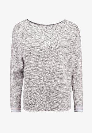 Svetr - grey/cream