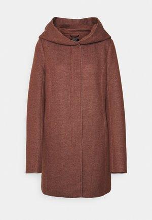 ONLSEDONA LIGHT COAT - Classic coat - chocolate fondant