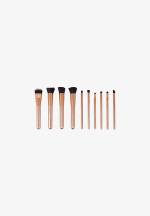 10 PIECE LUXURIOUS MAKE-UP BRUSH SET - Pinceau maquillage - rose gold