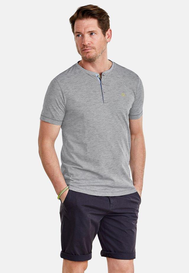 FINELINER - Print T-shirt - rock grey
