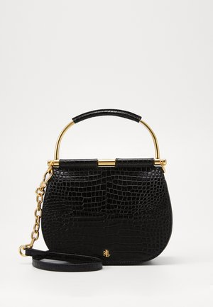 MINI CROC EMBOSS MASON  - Handbag - black