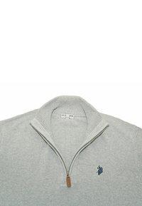 U.S. Polo Assn. - HALF ZIP TROYER - Jumper - hellgrau - 2