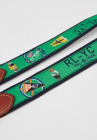 Polo Ralph Lauren - CRITTER BELT-CASUAL - Pásek - green - 2