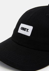 Obey Clothing - BOLD LABEL PANEL  - Kšiltovka - black - 3
