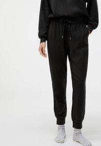 OYSHO - Trousers - black - 0