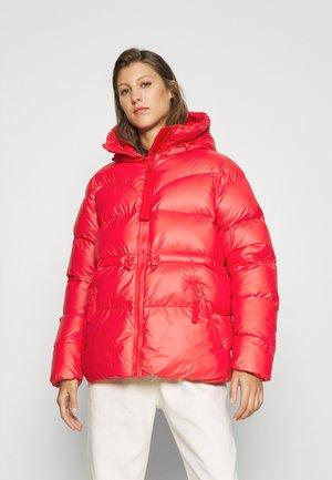 WOMENS ORIGINAL ALINE PUFFER - Winter jacket - red chill