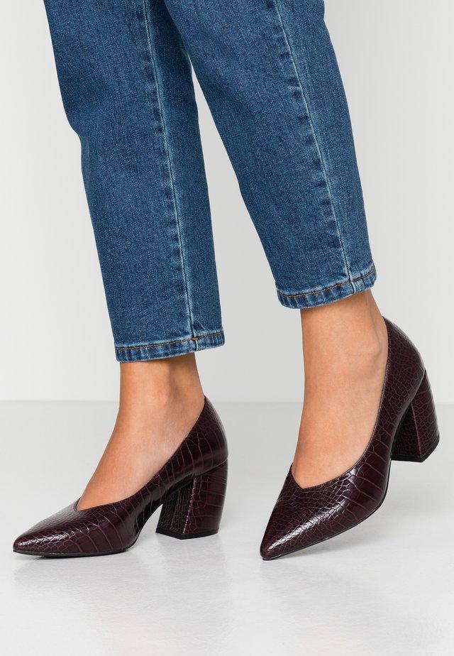BIACANDY - Classic heels - burgundy