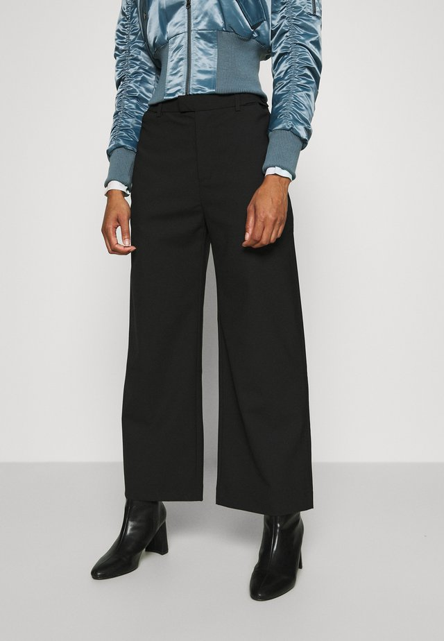 KNOX TROUSER - Bukser - black