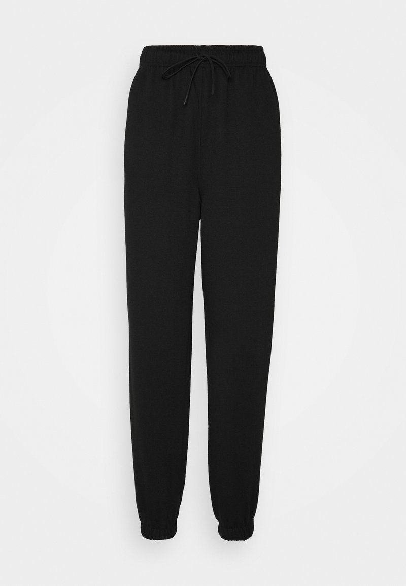 Topshop Tall - HARLEY - Tracksuit bottoms - black