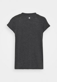 Cotton On Body - LIFESTYLE SLOUCHY MUSCLE - Basic T-shirt - black wash - 1