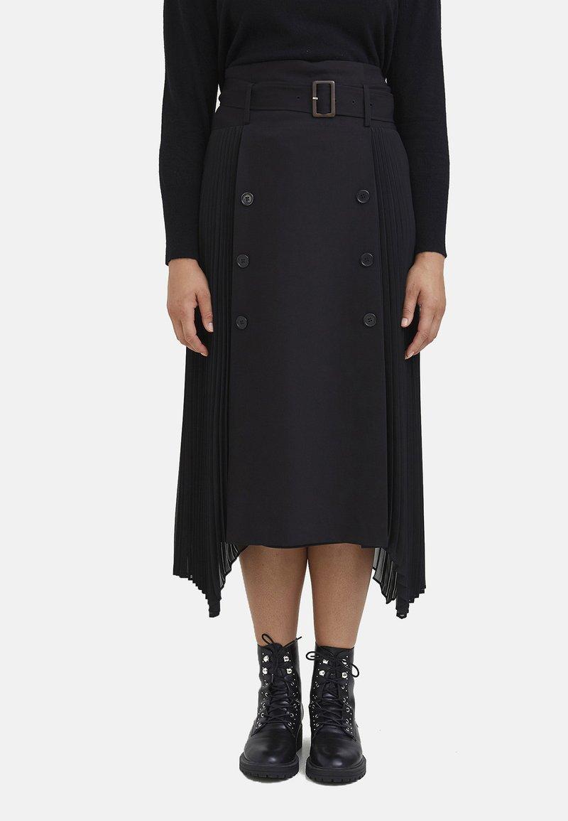 Fiorella Rubino - A-line skirt - nero