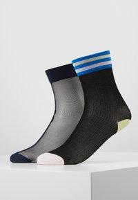 Hysteria by Happy Socks - FILIPPA ANKLE LONA CREW 2 PACK - Socks - multi - 0