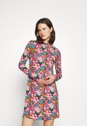 SWING - Jersey dress - multi-coloured
