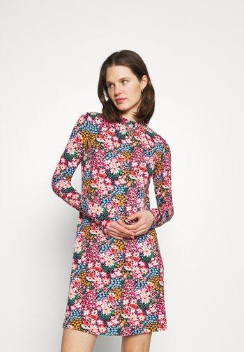 SWING - Jersey dress - multi-coloured