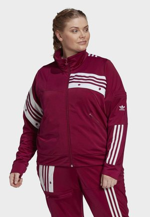 DANIËLLE CATHARI TRACK TOP (PLUS SIZE) - Training jacket - purple